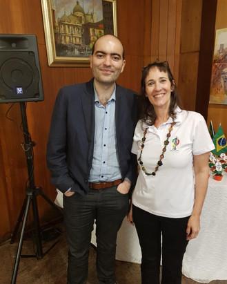 Circolo Italiano recebe portugueses em almoço especial