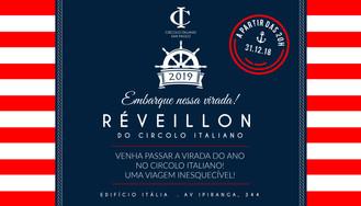 RÉVEILLON NO CIRCOLO ITALIANO