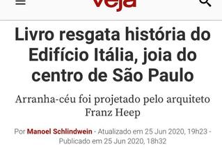 Revista VEJA: Livro resgata história do Edifício Itália, joia do centro de São Paulo