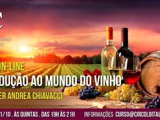 2º Curso de Vinho 100% ON-LINE Introdução ao mundo dos vinhos