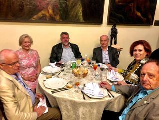 Diretoria do Circolo encerra as atividades de 2019 com jantar de confraternização