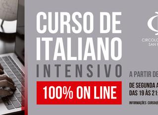 CURSO DE ITALIANO INTENSIVO 100%Online
