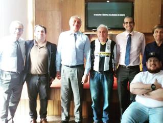 Autoridades Italianas prestigiam jogo da Juventus no Circolo Italiano