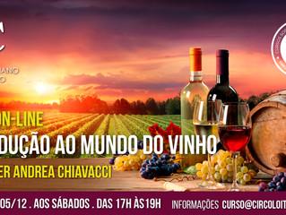 3º Curso de Vinho 100% On-line: Introdução ao mundo dos vinhos