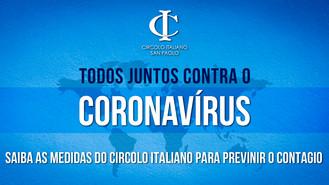COVID-19: Medidas do Circolo contra o Coronavírus