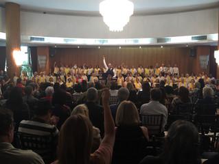 Concerto 'Música das Nações': Grande Coro de São Paulo emociona a todos com canções de diversos país