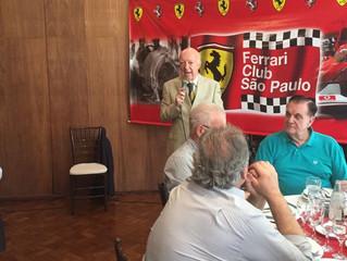 Circolo Italiano recebe Ferrari Club São Paulo