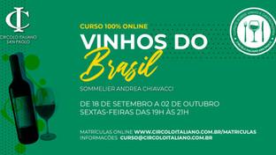 Vinhos do Brasil - Curso de Vinhos 100% Online