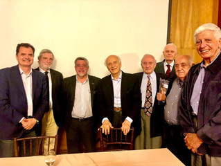 Circolo Italiano e POLIS recebem Embaixador Rubens Ricupero