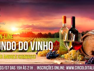 Curso sobre Vinhos 100% online
