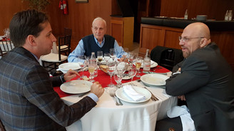 Ferrari Club São Paulo se despede do Cônsul Geral da Itália em São Paulo, Sr. Michele Pala.
