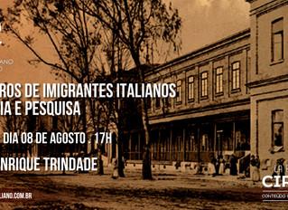 La Bottega del Circolo: Registros de Imigrantes Italianos - História e Pesquisa