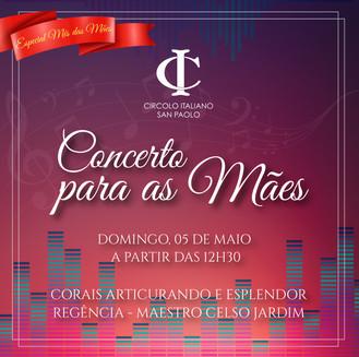 Especial Mês das Mães | Concerto para as Mães.