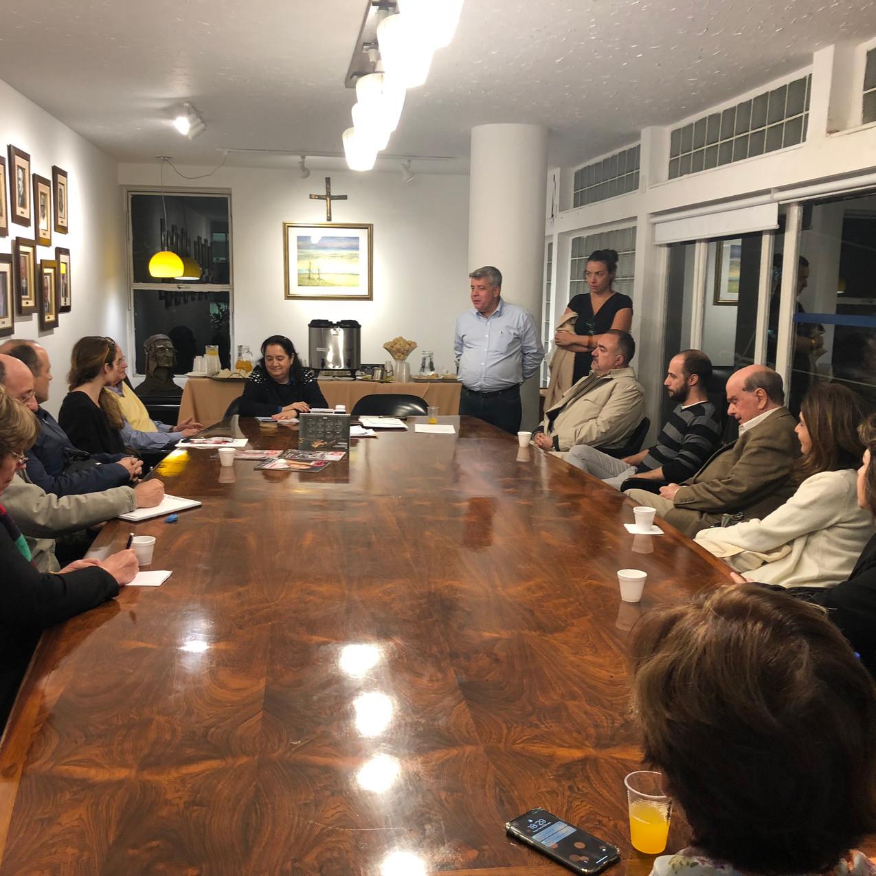 Reunião do Curso de Italiano