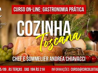 Curso de Gastronomia Prática 100% On-Line: Cozinha Toscana