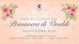 Obra di Vivaldi inspira a Festa da Primavera!