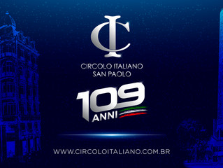 Circolo Italiano: 109 anos!