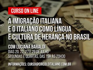 A imigração italiana e o italiano como língua e cultura de herança no Brasil