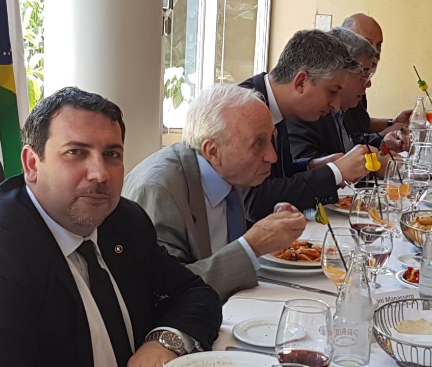 Almoço realizado no Circolo Italiano