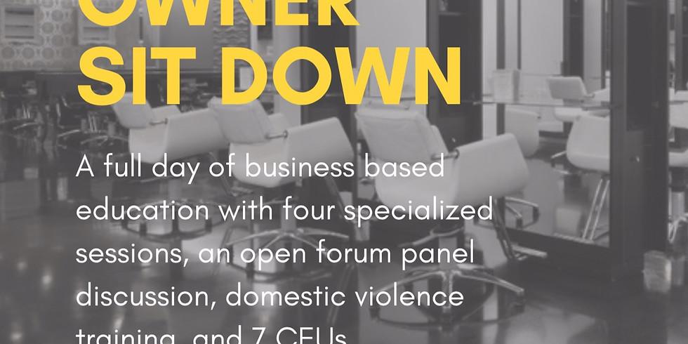 Salon Owner Sit Down