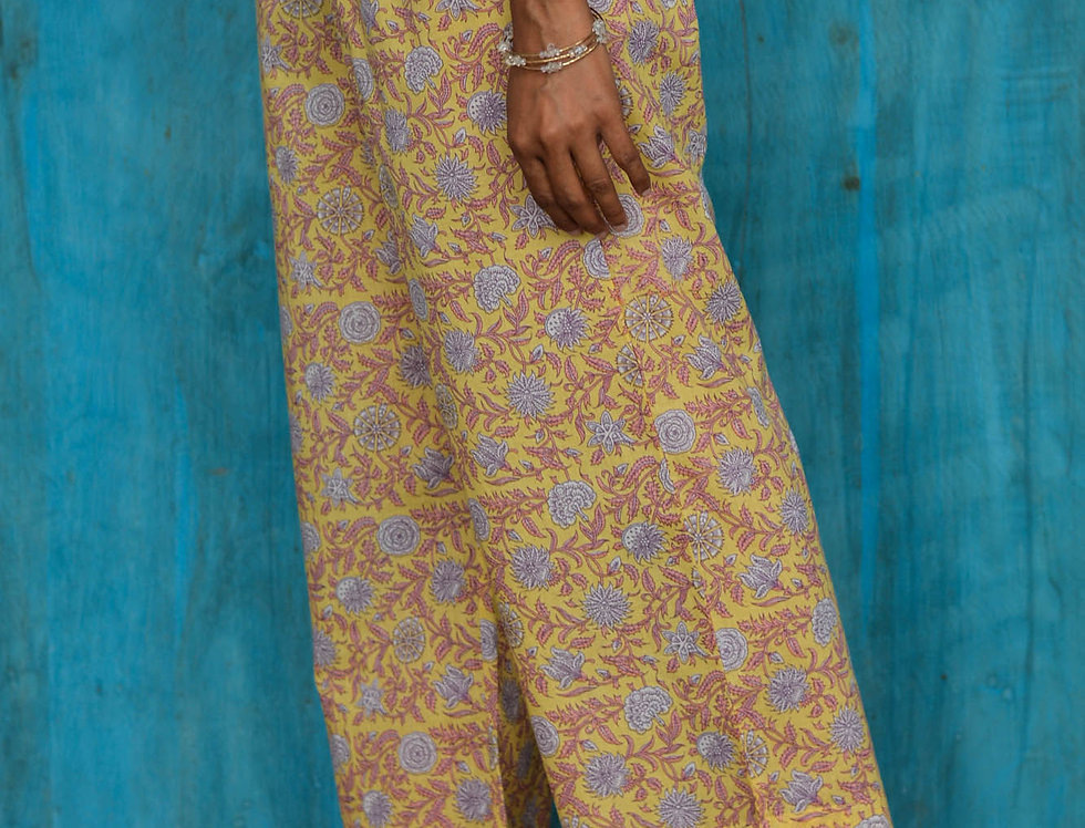 Yellow Jaal Trousers
