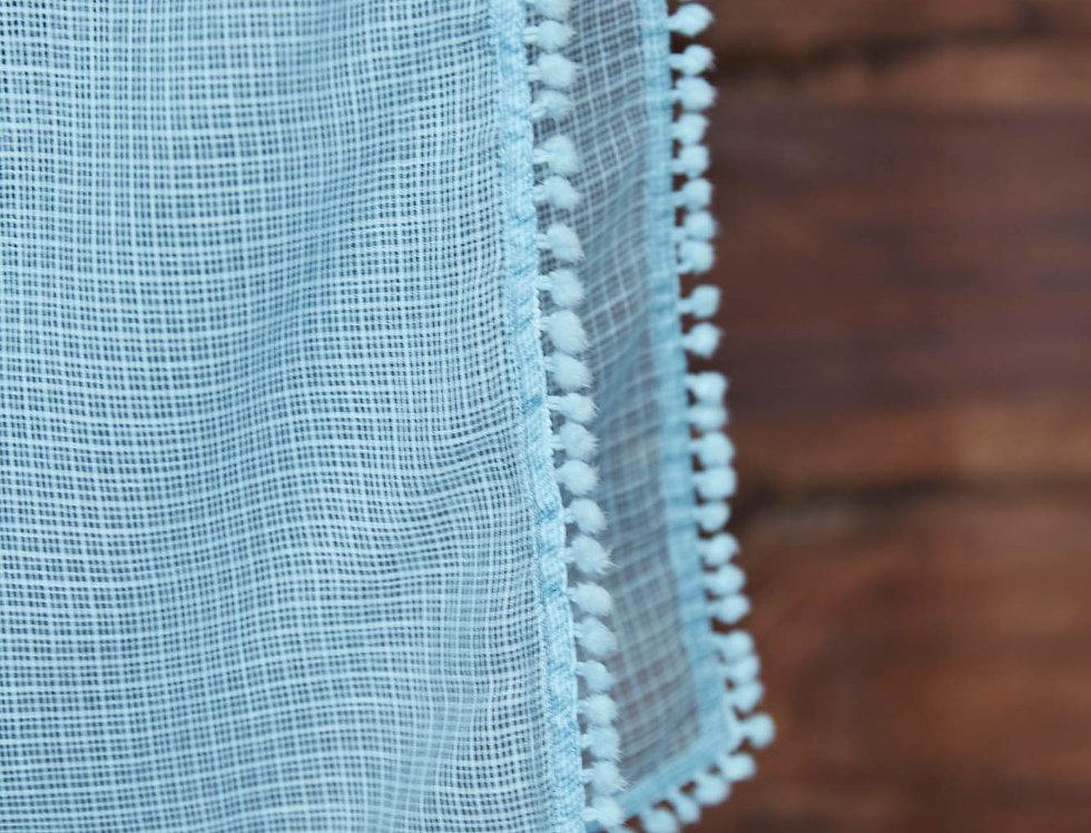Blue Lace Dupatta