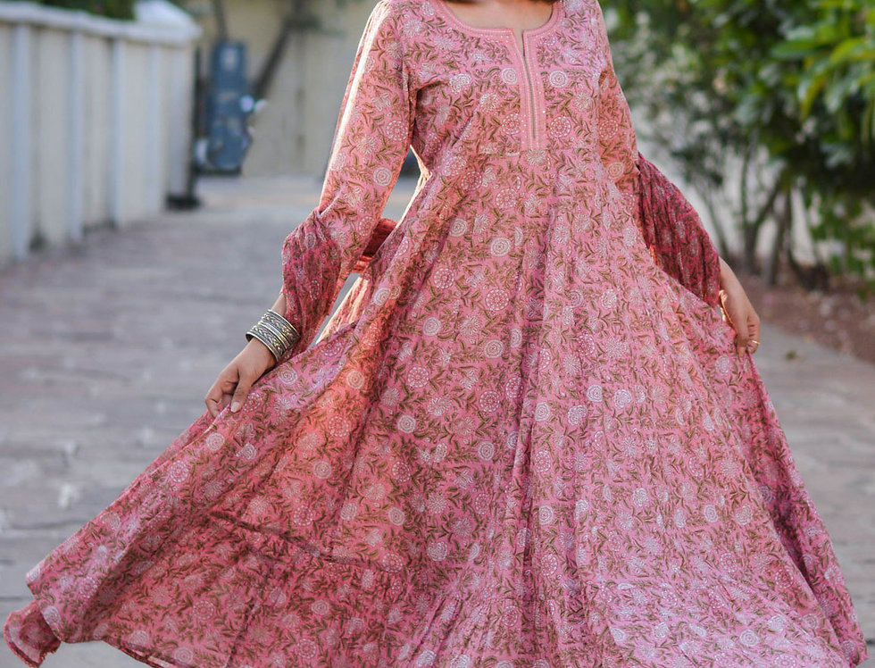 Pink Mughal Garden