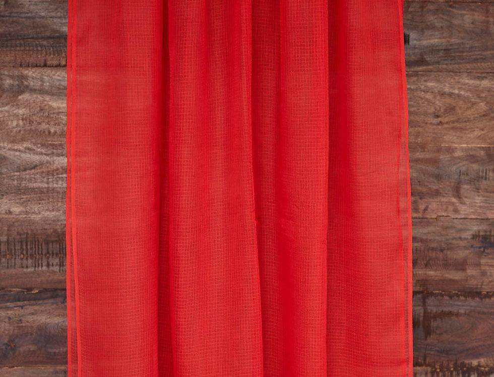 Red Doria Dupatta