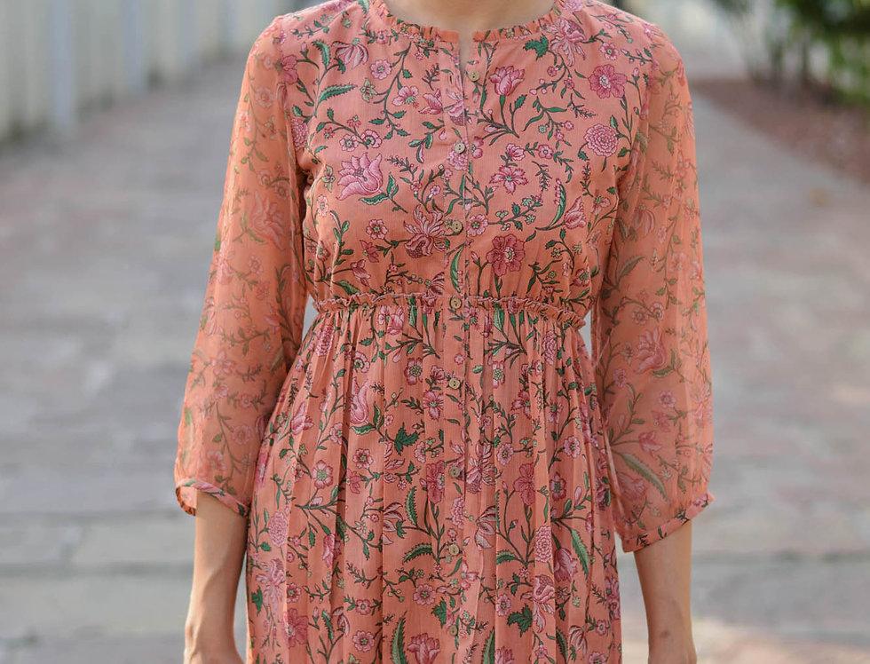 Full Front Open Dress