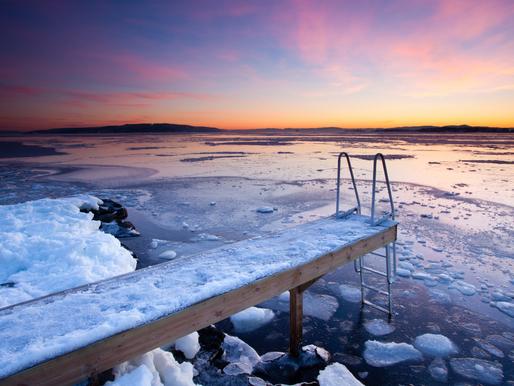 ICE BATHING: THE BENEFITS