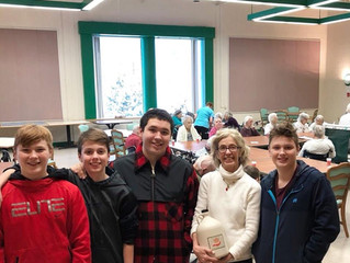 Youth Center Giving Back at Elderwood of Uihlein