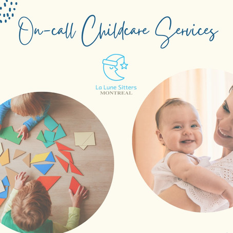 On-call childcare services!