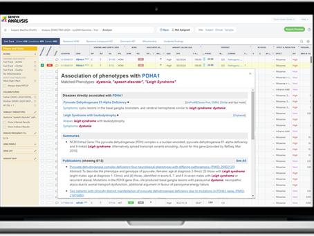 TGEX 將整合進Geneyx,強化基因數據分析平台應用