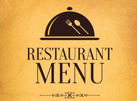 7. Menu design tips