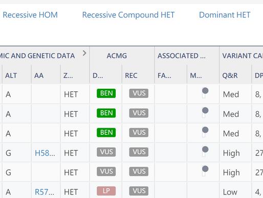 GENEYX 強化WGS Trio分析功能