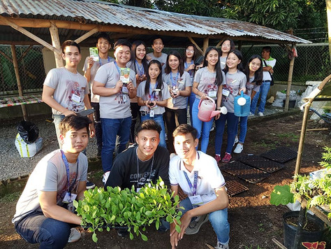 Fun-filled Farm Activities with SHS Marianers at East-West Seed