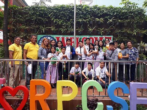 EWSF and PBSP train students in Metro Manila on Urban Gardening