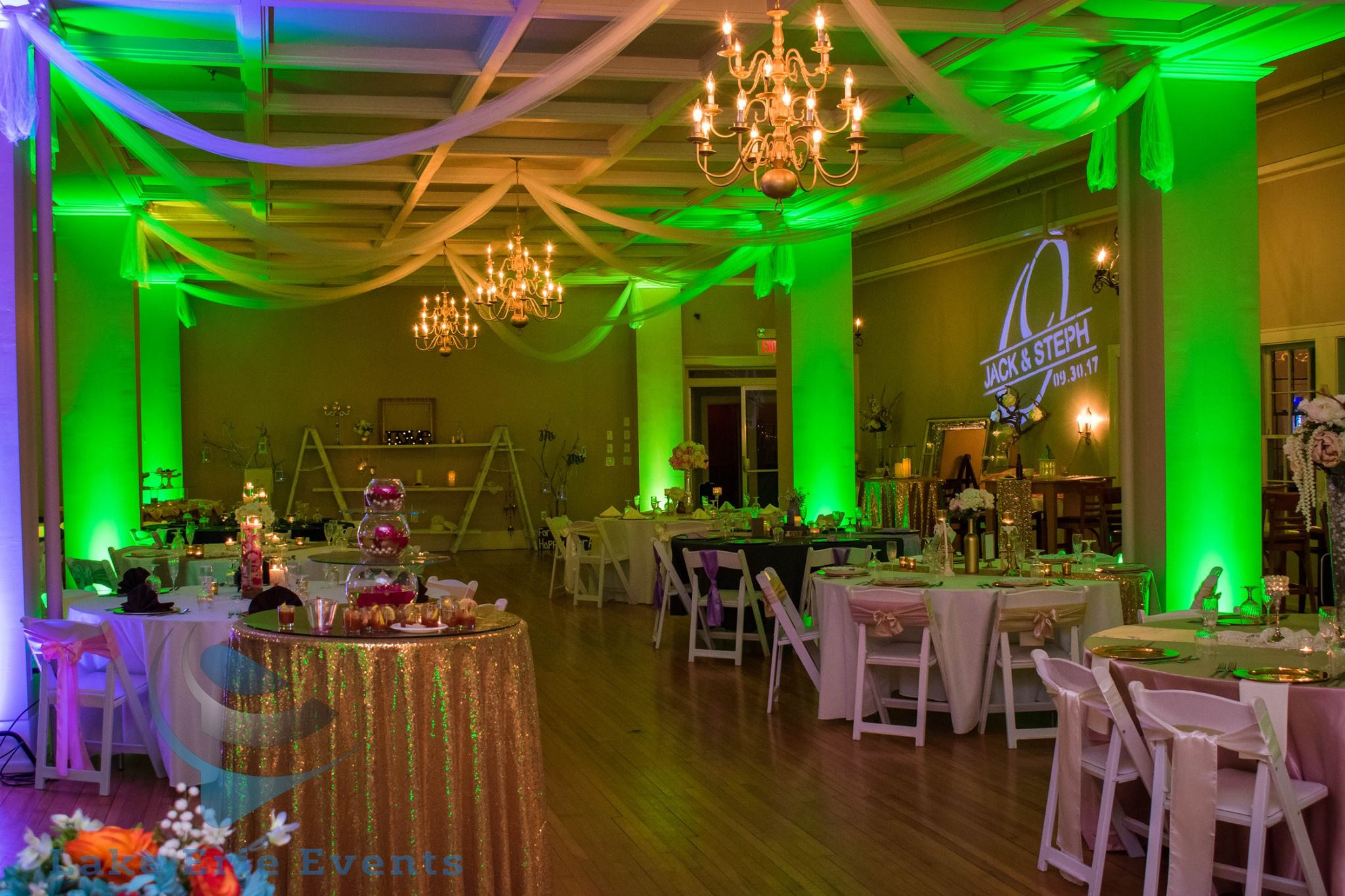 Lake Erie Events Lighting