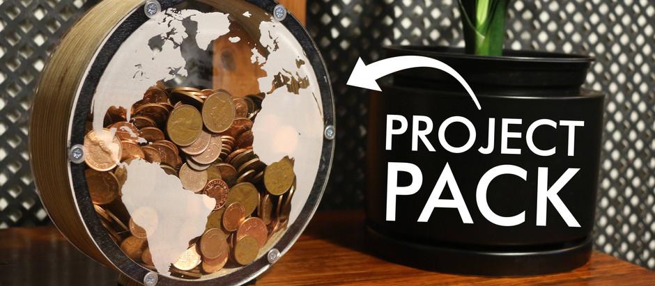 Perspex Globe Money Box