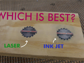 How To Transfer A Printed Images To Wood - Laser vs. Ink Jet Printing