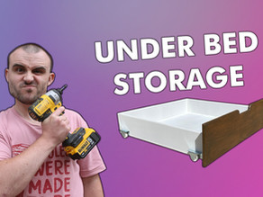 How To Make Under Bed Drawers - The Average Joe Way!