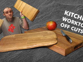 Turn Worktop Off Cuts Into Cutting Boards