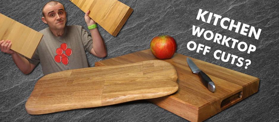 Turn Worktop Off Cuts Into Cutting Boards