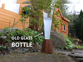 Turn A Glass Bottle Into A Flute Glass