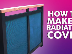 How To Make An Industrial Radiator Cover