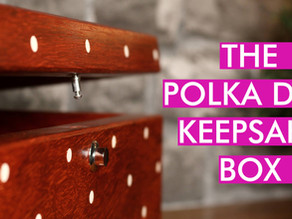 How I Made The Polka Dot Keepsake Box