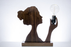 Cameo Silhouette Lamp