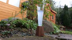 Glass Bottle Flute Glass