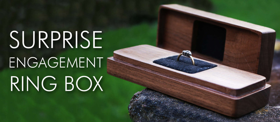 DIY Surprise Engagement Ring Box