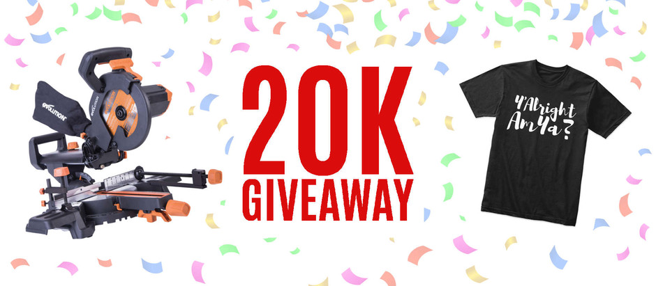 20K Subscriber Giveaway - CLOSED